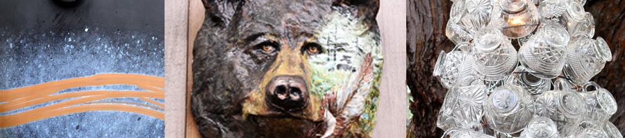 Garden Art at the Methow Valley Inn. Open to the public daily from 10AM-6PM May through September